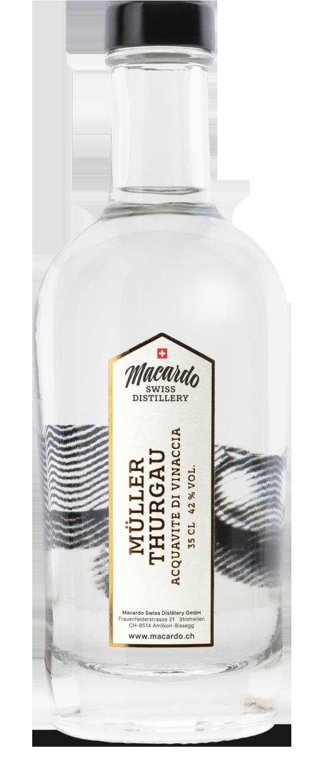 Acquavite di vinaccia Müller Thurgau - Macardo Destillerie