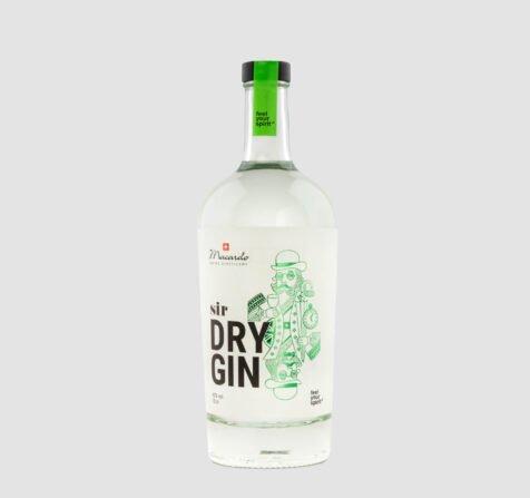 Unser Sir Dry Gin. Destilliert nach einem Rezept aus dem London des 18. Jahrhunderts, mit feinstem Wachholder und 18 auserlesenen Botanicals. Wie jeder echte und hochwertige Dry Gin wird auch der zu 100% in der Schweiz hergestellte Sir Dry Gin mehrfach destilliert – ohne Zugabe von Farbstoffen oder Zucker. Die Rezeptur des mit auserwählten regionalen Bio-Botanicals bereicherten Schweizer Dry Gin ist geheim, sein Geschmack einzigartig, mit Wacholder- und Zitrusaromen, zarter Säure und raffinierter Schärfe.
