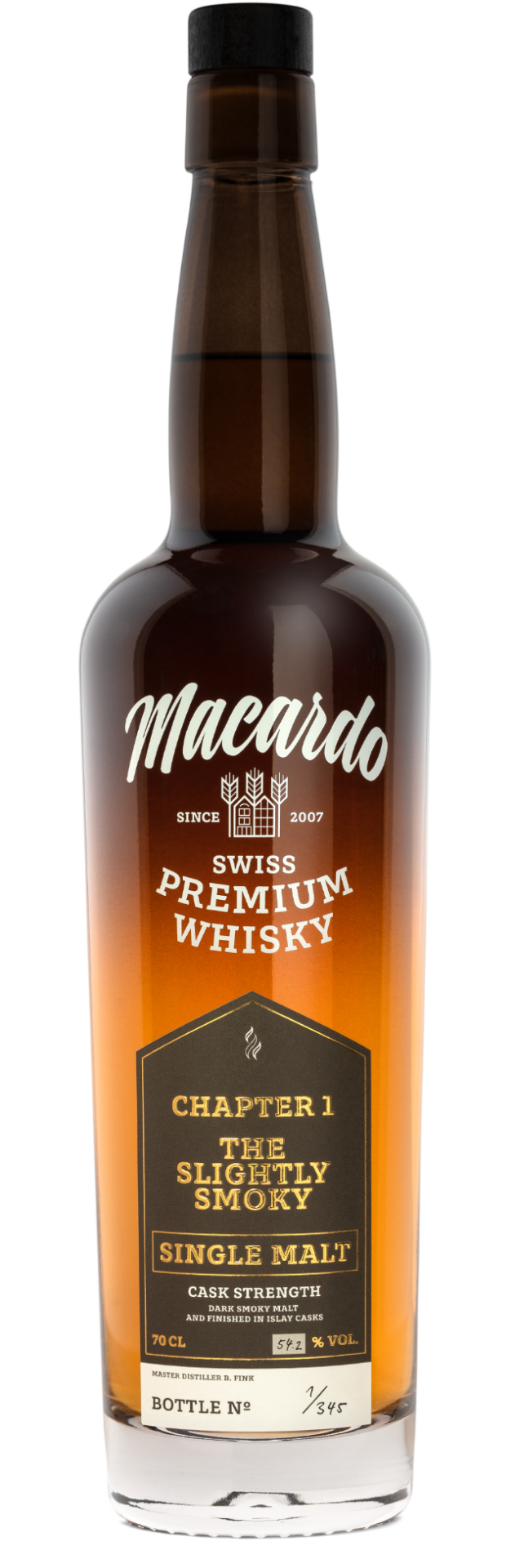 Chapter I - the slightly Smoky one - Macardo Destillerie