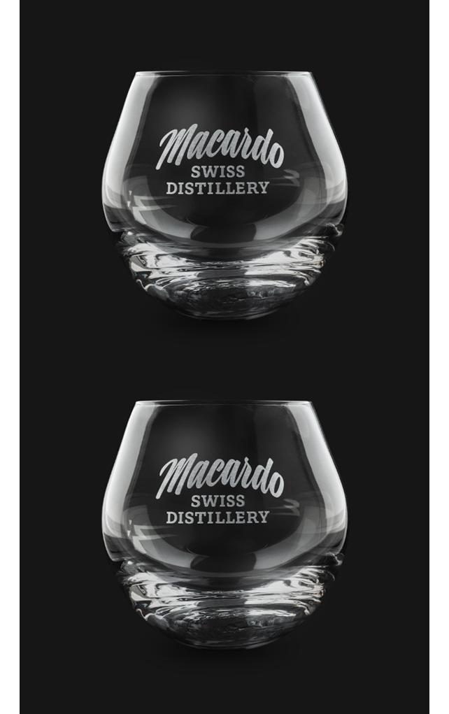 Macardo Rolling Tumber - Whisky Glas